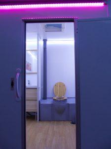 Caravane sanitaire confort location toilettes chimiques Var