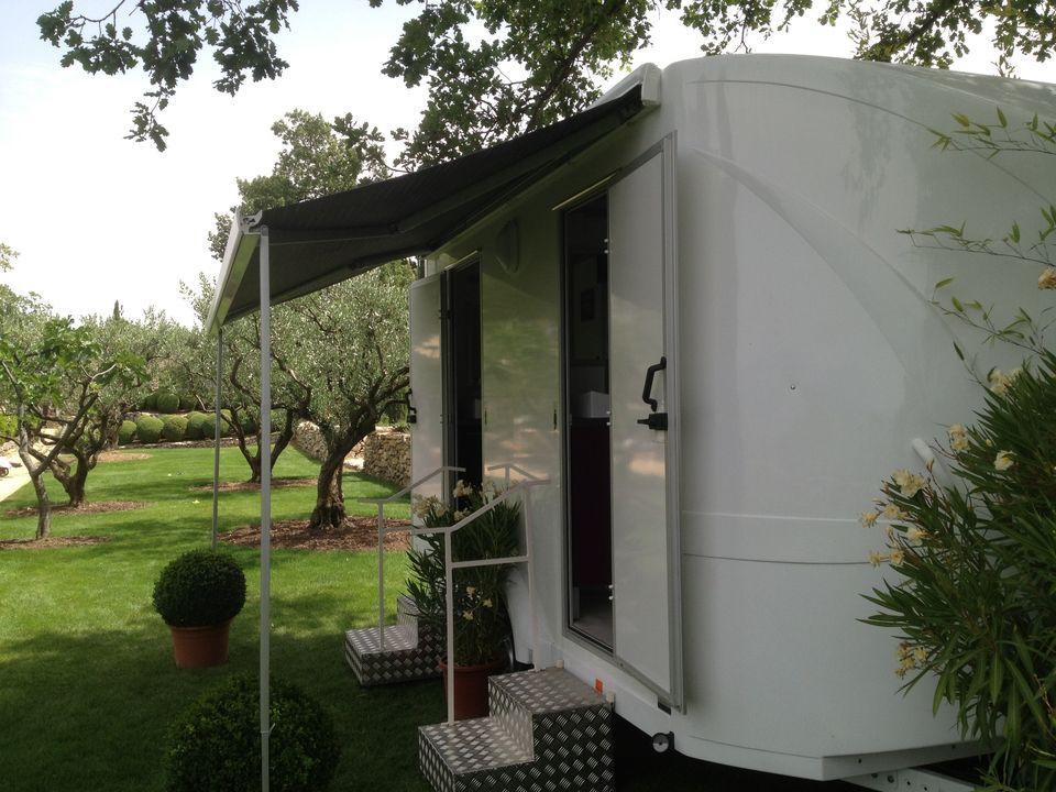 Caravane sanitaire mariage bio sanitaire location - Wc chimique caravane ...