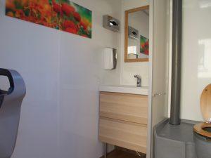 Caravane sanitaire confort location toilettes chimiques Ardèche