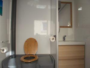 Caravane sanitaire confort location toilettes chimiques Gard