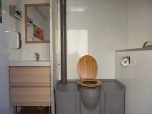 Caravane sanitaire confort location toilettes chimiques Bouches du Rhône