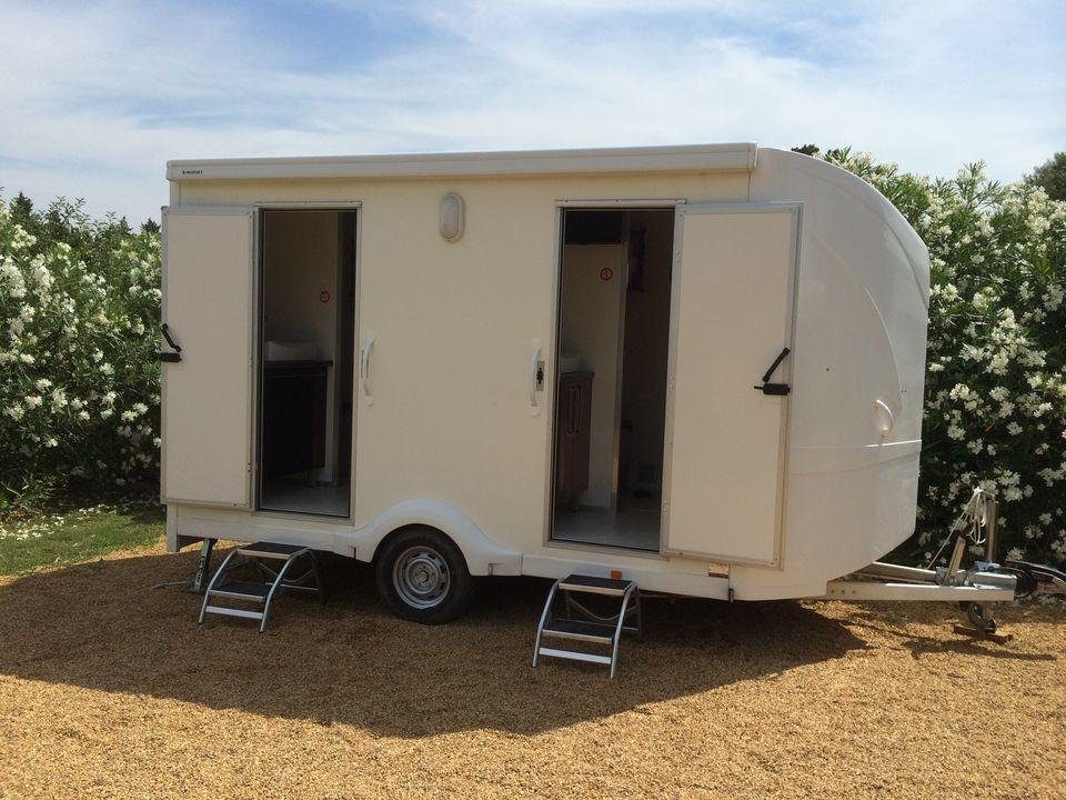 Sanitaire mobile luxe - Wc chimique caravane ...